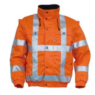 All season jack Havep fluo oranje 5126